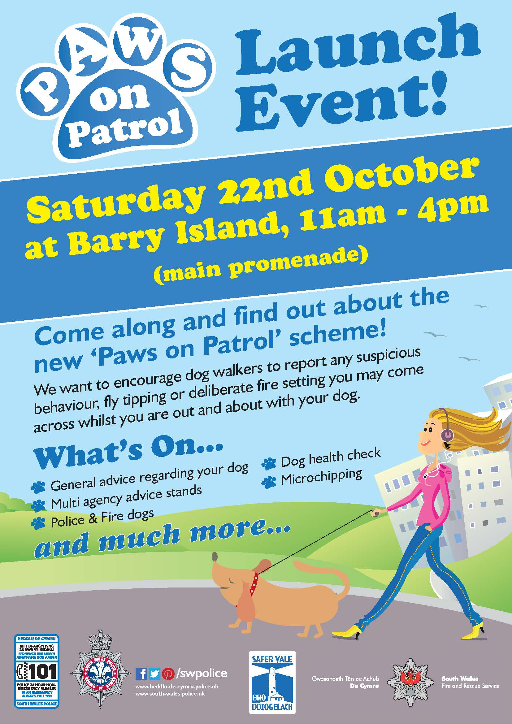 1814 - Paws on patrol - barry island poster 2016 english