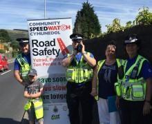 Community Speed Watch Llwynypia