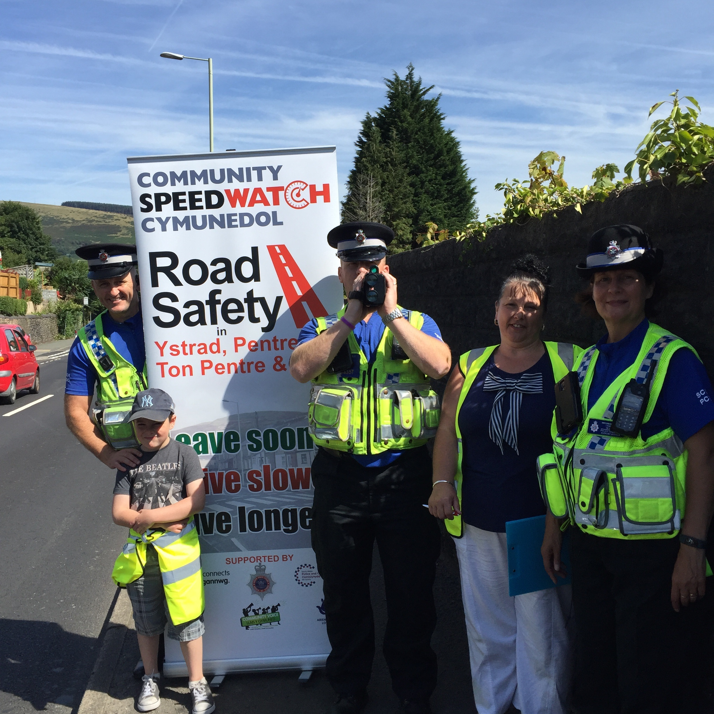 Community Speed Watch Llwynypia