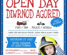 Safer Vale open day 2016 poster