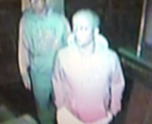 Two suspects police would like to identify