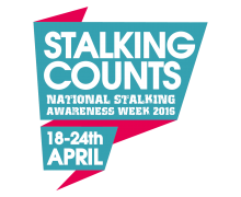 National Stalking Awareness Week 2016 logo