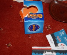 chocolate orange burglary