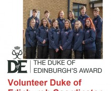 duke of edinburgh volunteer coordinator