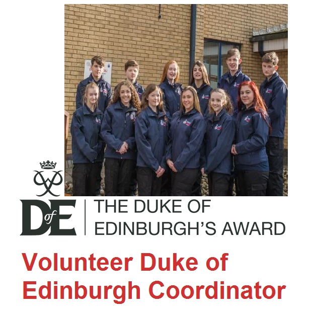 duke of edinburgh volunteer coordinator