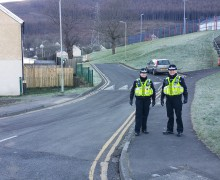 Pcsos on patrol in Fernhill
