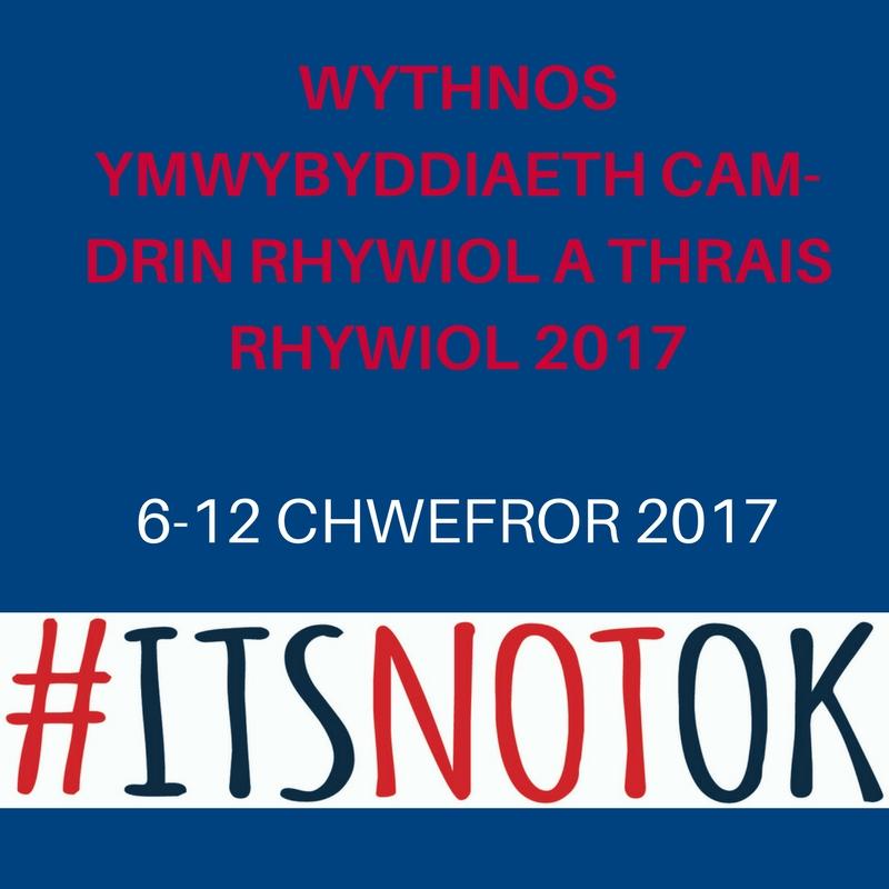 #itsnotok Welsh