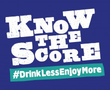 Know The Score #drinklessenjoymore