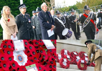 Pictures from the Remembrance Day Service 2015