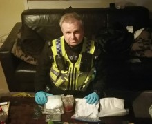 seizure of cocaine and cutting agent