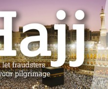 Don't Let Fraudsters Ruin Your Pilgrimage