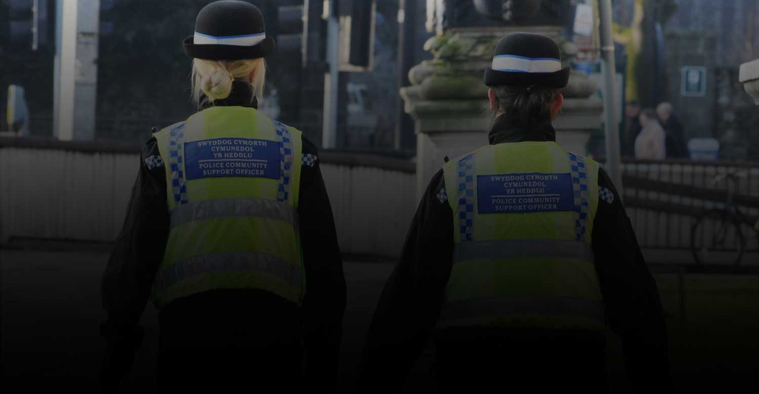 South Wales Police Background Image