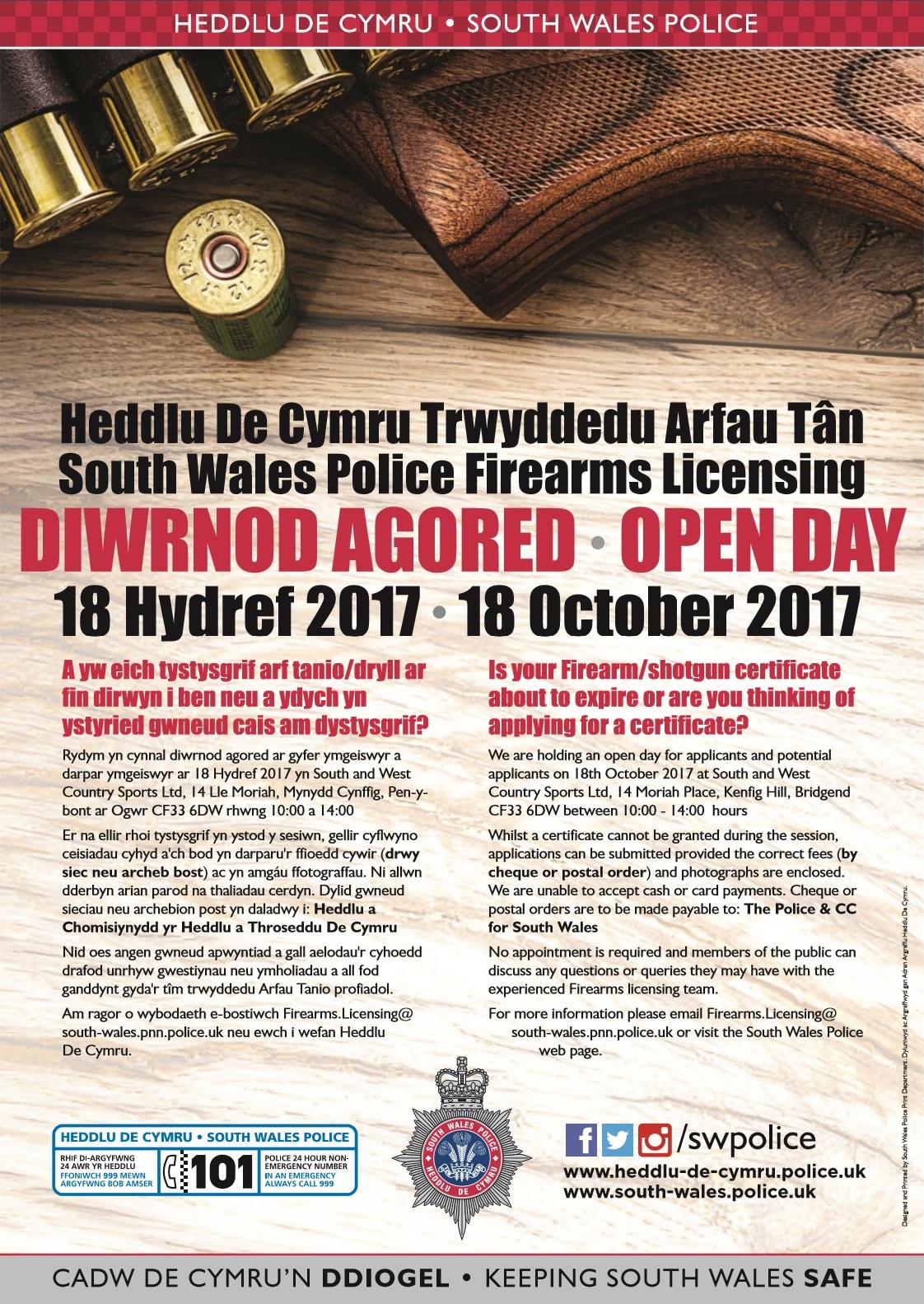 Firearms Open Day