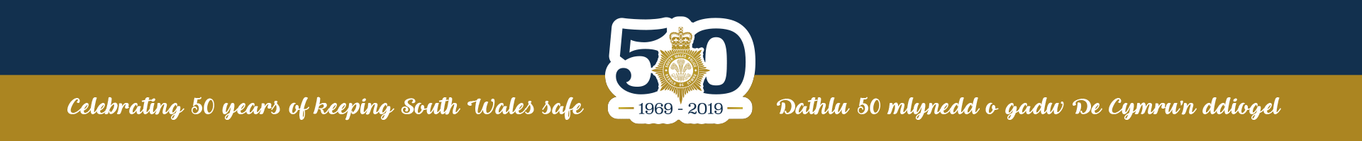 South Wales Police 50 year anniversary