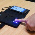 Mobile biometric device