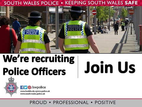 police officer recruitment image to use